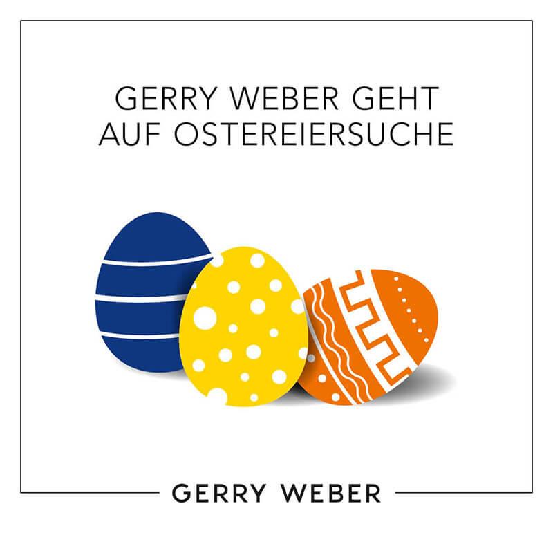 Gerry Weber geht auf Ostereisuche!