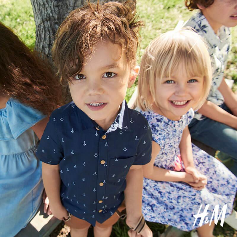 H&M: -20% auf ALLES in der Kinderabteilung